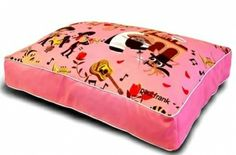 Paul Frank Bed Wedding Bells Pink - Queen Size Pet Bed for Cats and Dogs #fortailsonly Stacie Marshman, Founding Independent Handler, Microchip #FH100 www.fb.com/paradisepetboutique