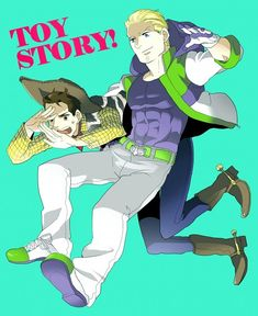 Humanized Buzz and Woody