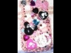 This tutorial shows you a few cute ideas to decorate a cell phone cover. iPhones all look the same, but you can take a basic cover and then add beads, faux gems, rhinestones and other embellishments to personalize your cell phone case.