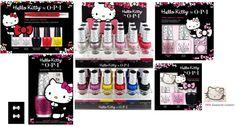 OPI Hello Kitty Gift Sets - OPI Hello Kitty Collection 2016. www.nailmypolish.com