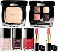 Chanel Notes du Printemps Spring 2014 Makeup Collection  #makeup