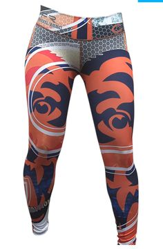 Experience power and comfort with this limited edition 2015 collection Denver  Broncos NFL Football Team Leggings for women. 68f1b334b