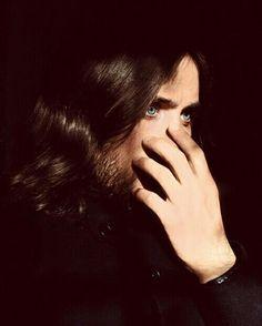 His eyes... Jared leto