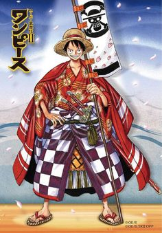 """tanuki-kimono: """" goes kabuki, merchandise seen on. Thought not linked to the crew's personnas or stories, those arts are inspired by famous kabuki characters/pieces such as Dandies from. Monkey D Luffy, Chopper, Luffy Gear 4, Luffy X Nami, Roronoa Zoro, Manga Anime One Piece, One Piece Drawing, Anime Drawing Styles, One Piece Luffy"""