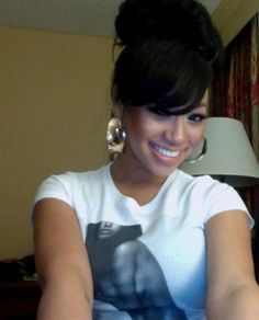 Awesome You Can Never Go Wrong With This Hairstyle Fringes Toya Wright Short Hairstyles Gunalazisus