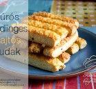Túrós-snidlinges-sajtos rudak Rum, Pancakes, French Toast, Food And Drink, Breakfast, Morning Coffee, Pancake, Morning Breakfast, Rome