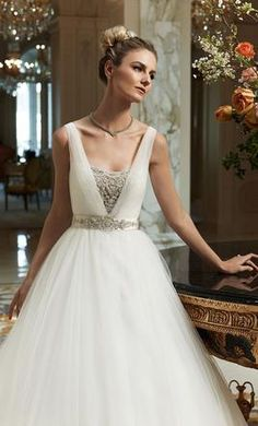 Casablanca 2091 wedding dress currently for sale at 53% off retail.