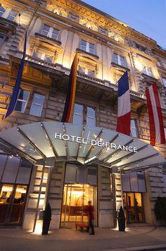 Hotel de France   Vienna   Austria (1872)