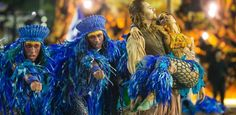 Desfile das campeãs do Rio de Janeiro