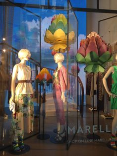 Marella blooms for the Expo Opening - Milan fashion windows