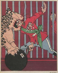 1920s Spanish satirical magazine Buen Humor 1922, illus. K-Hito