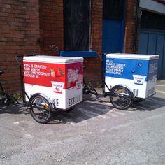 yogurt promotional bikes