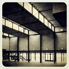 """DWx"""" - The Smithsons - Hunstanton School 1954 Studios Architecture, Space Architecture, Mid-century Interior, Interior And Exterior, Le Corbusier, Alison And Peter Smithson, Arch Light, Industrial Architecture, International Style"""