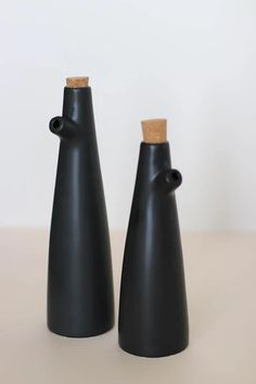 Black Cruet Oil Bottle  – Pineridge Hollow
