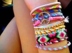 Perfect hand made friendship bands