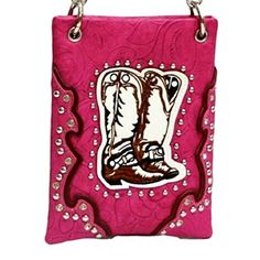New Trending Bumbags: The Chic Bag - Rhinestone Cowgirl 4-way Bag - Cowgirl Boots, Studs  Piping (Fuchsia; 6x8x1in) - BUY 2 GET A 3rd BAG FREE!. The Chic Bag – Rhinestone Cowgirl 4-way Bag – Cowgirl Boots, Studs  Piping (Fuchsia; 6x8x1in) – BUY 2 GET A 3rd BAG FREE!  Special Offer: $39.95  433 Reviews The Chic Bag designs and manufactures innovative cross-body designer handbags releasing new and exciting...
