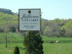 Jefferson Vineyards- Charlottesville, VA