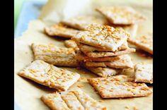 Slané špaldovo-lněné sušenky