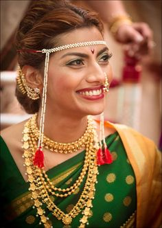 Maharashtrian Bridal Sarees - The Native Kolhapuri Silk
