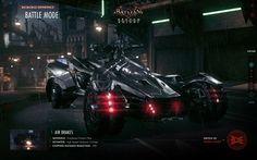 Batman: Arkham Knight Batmobile WebGL Experience by Shane Mielke, via Behance