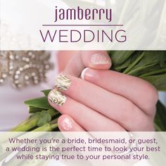 Whether your a bride, bridesmaid, mother of the bride/groom or a guest, Jamberry have a wrap(s) to suit every theme and/or outfit.