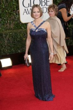 Jodie Foster at the Golden Globes | Moms on the Red Carpet - Parenting.com
