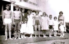 """america-runs-on-kennedy: """" """"Forced to raise the nine children largely by herself in her husband's extended absences, Mrs. Kennedy had developed a host of regimens to cope with her large household."""