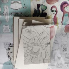 www.catajaramillo.com www.facebook.com/catajaramillographic #illustration #fashion #fashionillustration #moda #notebooks #libretas #agendas