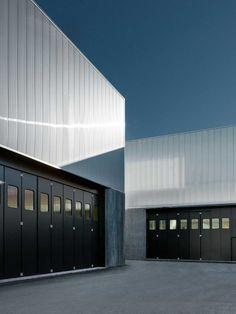 [Francesco Adobati | Nembro, IT | Persico SPA] industrial architecture, facade pattern, polycarbonate panels