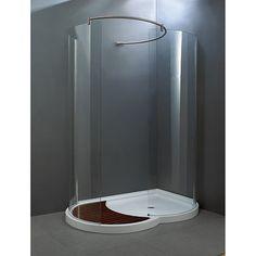 shower base - left - uberhaus - rona   soak your cares