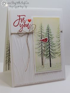Stampin' Up! Thoughtful Branches for Sunday Stamps (Stamp With Amy K)