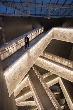 Canadian Museum for Human Rights in Winnipeg, Manitoba. Designed by Antoine Predock Architect.