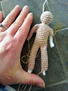 crochet human body... really cool looking too! http://madcrochetlab.com/yarndango-project-25-basic-tiny-humanoid-form/