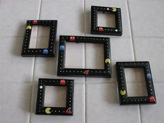 I love this! It will so go with my Pacman quilt.
