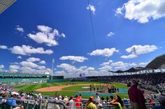 JetBlue Park in Fort Myers, Florida home of the Boston Red Sox spring training | via daisyj85, Flickr
