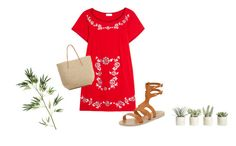 Sin título #84 by cactussflower on Polyvore featuring polyvore, fashion, style, Sensi Studio, Ancient Greek Sandals, Target, Pier 1 Imports, Allstate Floral and clothing