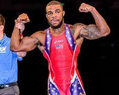 Jordan Burroughs I want to wrestle like him someday!!!