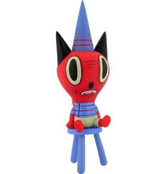 """Toy177 """"Lil Copy Cat"""" by Gary Baseman / Dunces Series from Critterbox (2006) #Toy"""