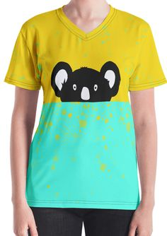 Get to know your new favorite Koala tee – it's super smooth, super comfortable, and made from a cotton touch polyester jersey that won't fade after washing. Getting To Know You, Funny Animals, Smooth, Touch, T Shirts For Women, Tees, Cute, Mens Tops, Cotton