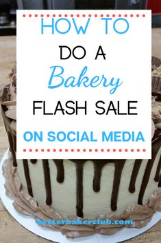 Three sure fire ideas to increase your bakery sales! Bakery Business Plan, Food Business Ideas, Baking Business, Cake Business, Business Inspiration, Bake Sale Treats, Bake Sale Recipes, Best Puppy Chow Recipe, Bakery Recipes