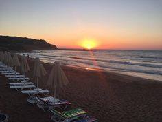 KAPLICA BEACH - Sun Rising  Turkish Republic of Northern Cyprus