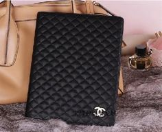 Chanel Ipad2 magnetic case pu leather