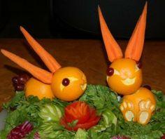Two adorable bunnies...