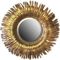 Miroir Soleil Il De Sorci Re Bomb Cadre Dor Ann Es 60 Dim 53cm Dim Il 20cm Prix