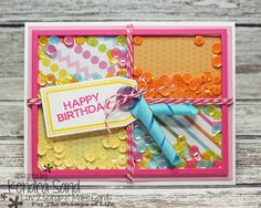 Luv 2 Scrap n' Make Cards, Kendra Sand, Handmade Card, The Stamps of Life