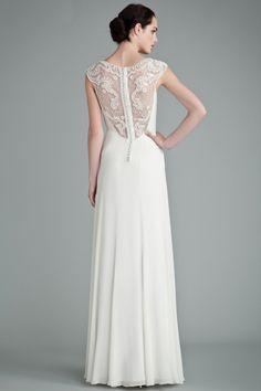 Get A Closer Look At Lauren Conrad's Wedding Dress #refinery29  http://www.refinery29.com/2014/09/74678/lauren-conrad-wedding-dress-sketches#slide6