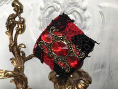 Armbänder - Armband, Trachtenarmband, Boho, Vintage - ein Designerstück von TASCHENWERK-C-S- bei DaWanda