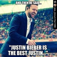 No one can beat Justin Timberlake