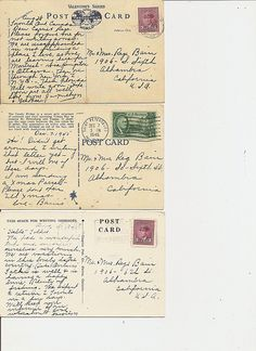 Postcard Backs   Flickr - Photo Sharing!