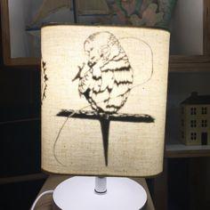 parrot & lamp